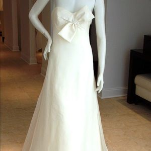 Custom made Vera Wang replicate wedding dress